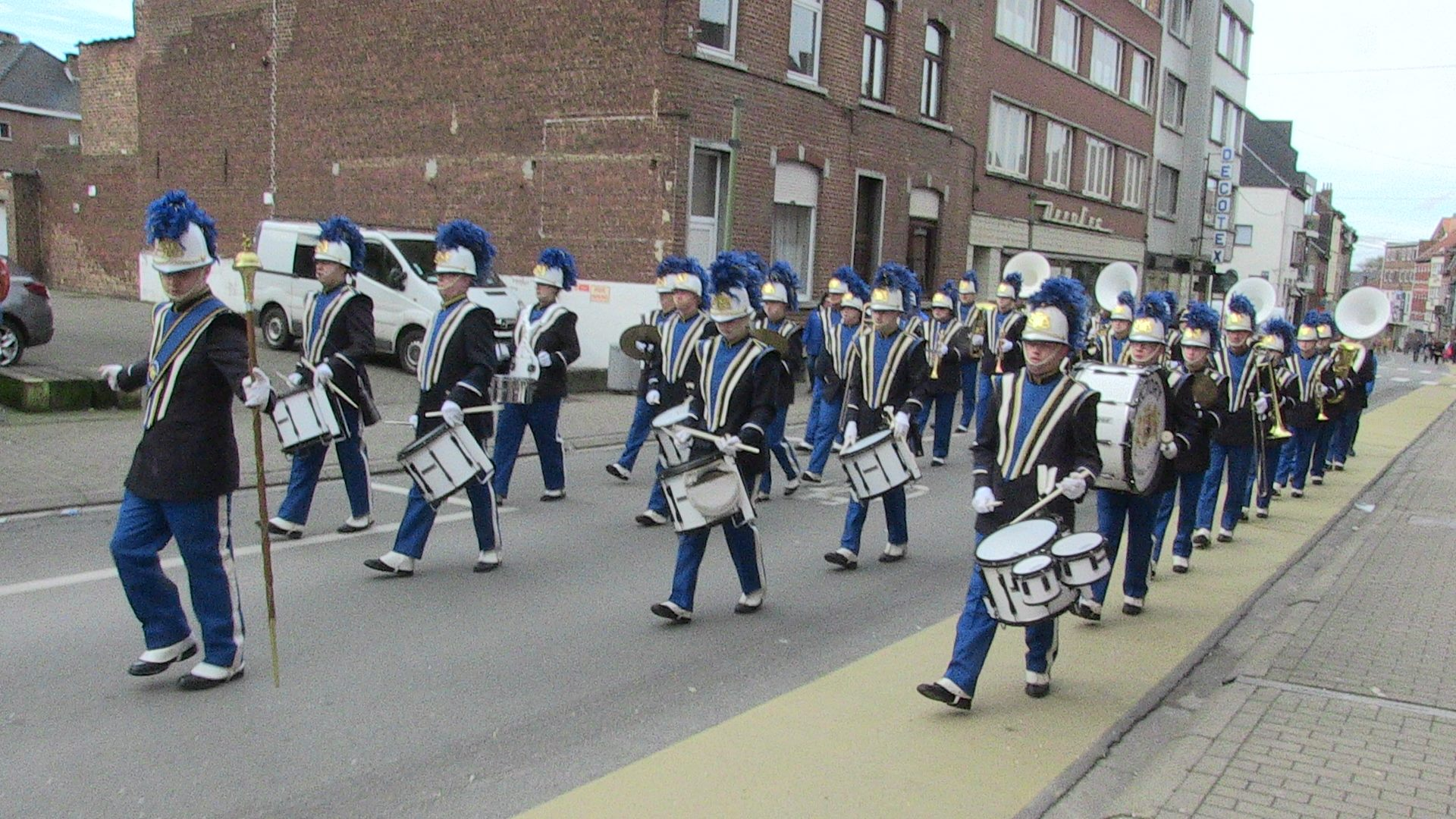 Show- and marchingband Victory in Halle
