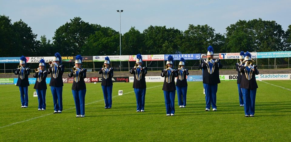 Show- and Marchingband Victory bij ODSC Assen 2018
